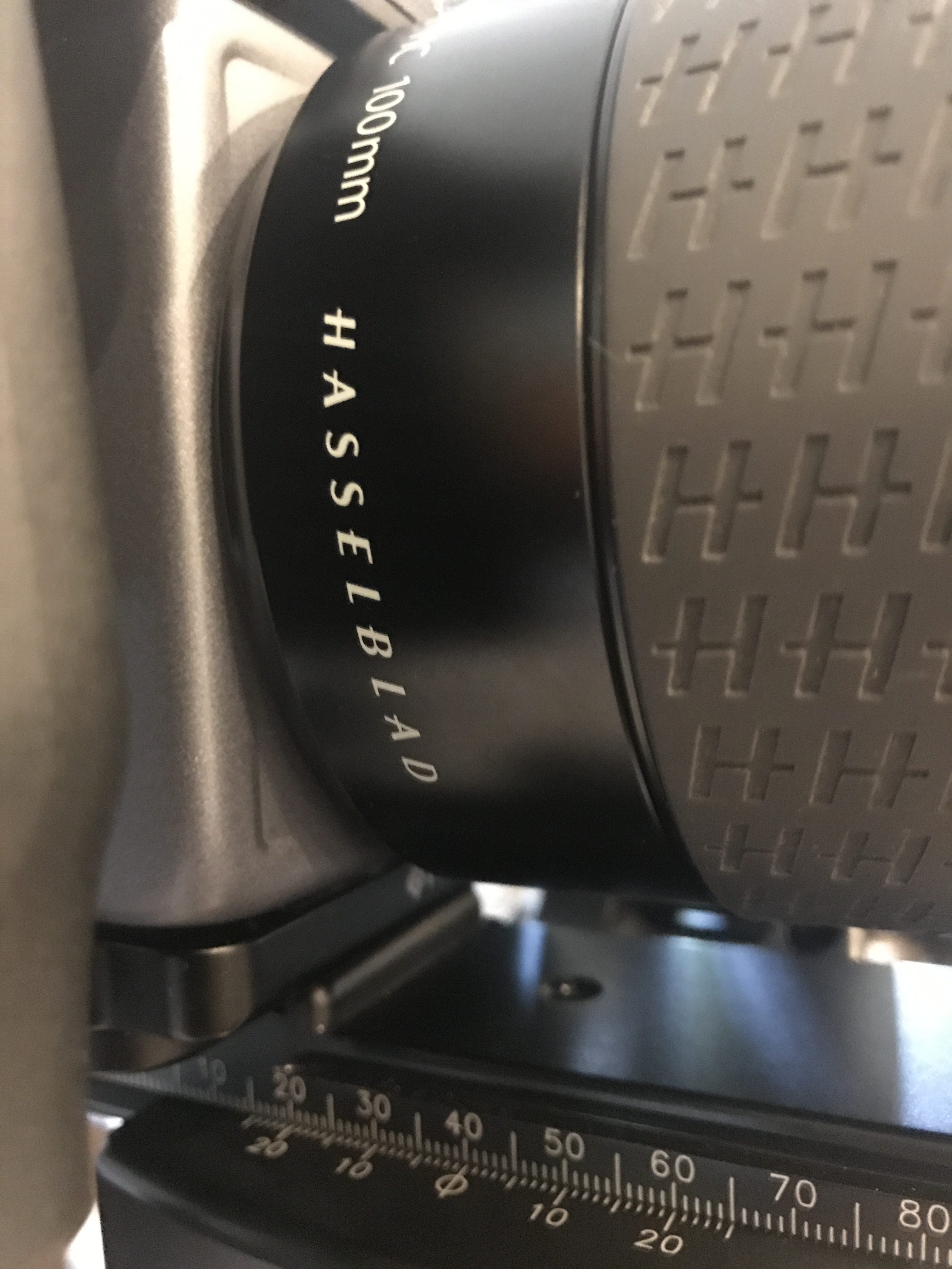 Nodal Point Set for Hasselblad 100mm HC