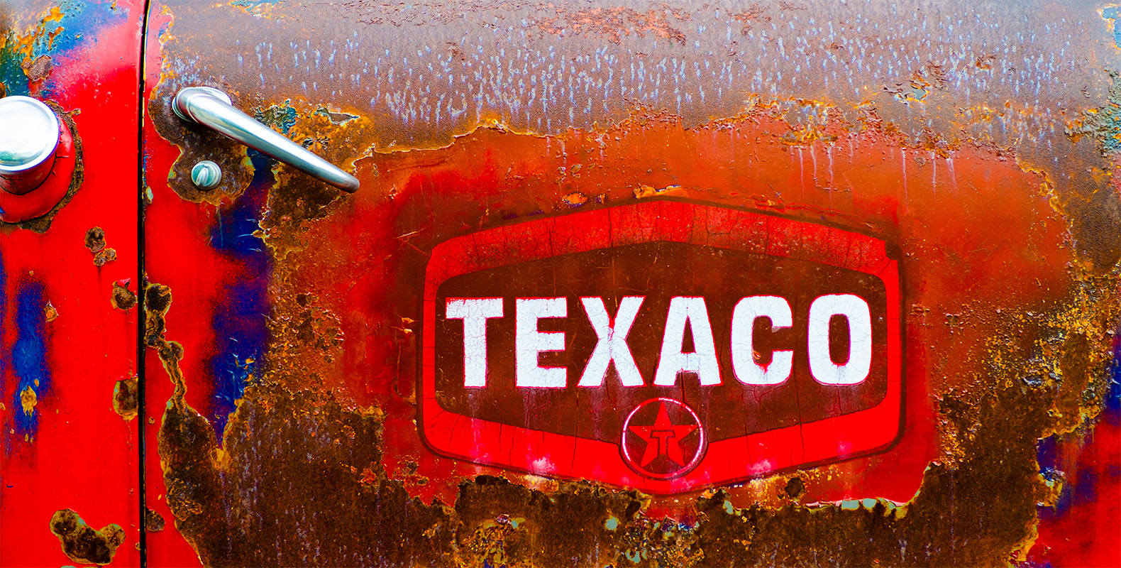 vintage texaco truck
