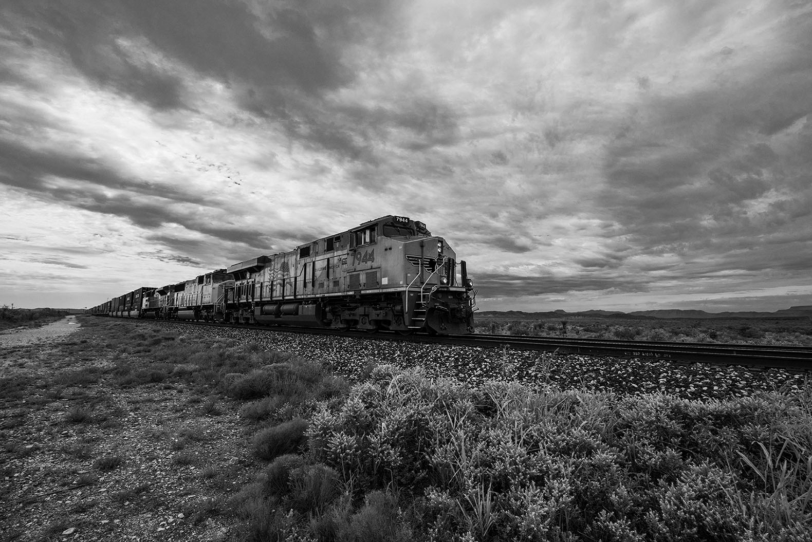 west texas train